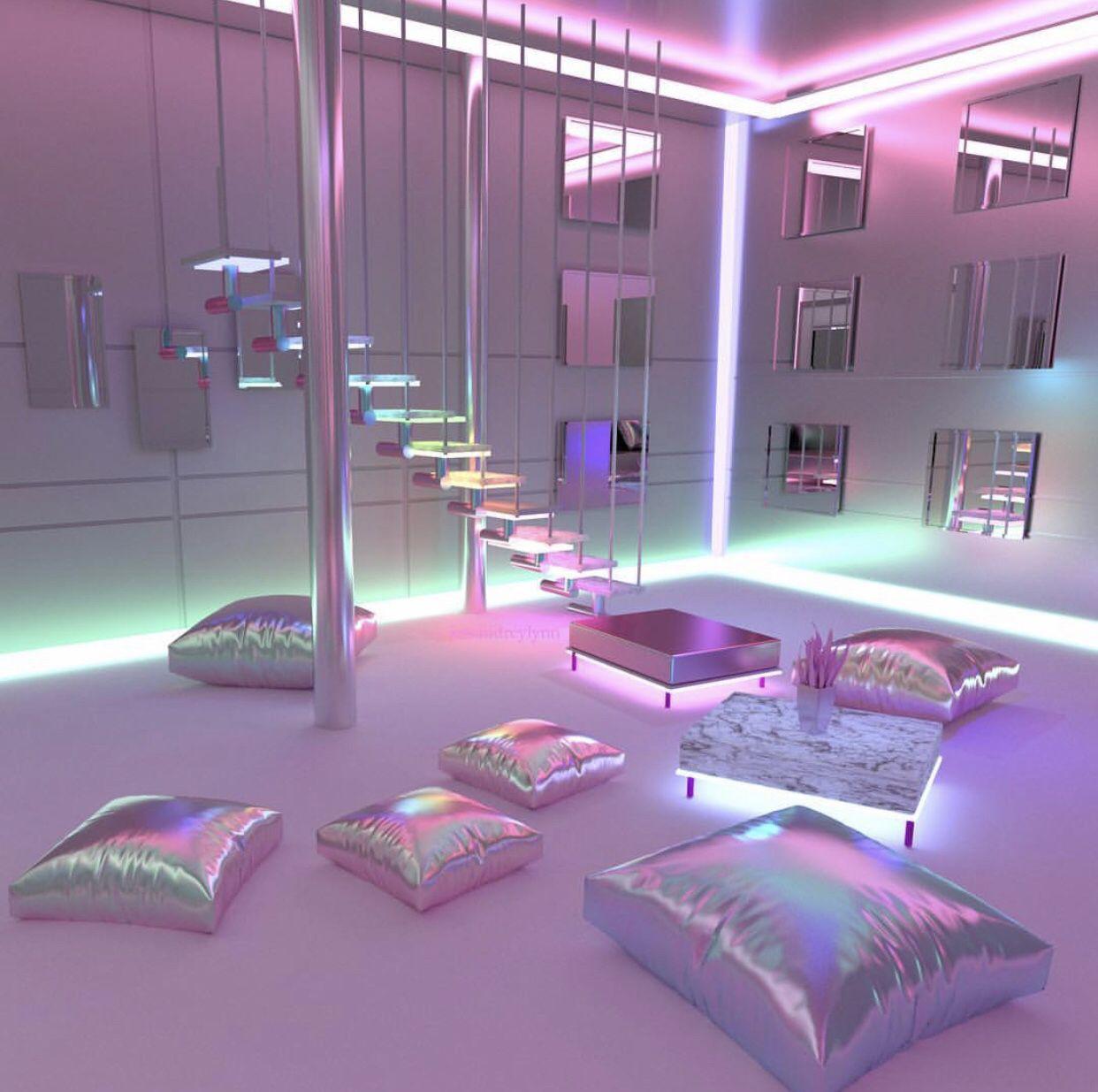 Pin by Meryem Tahri on • sanal •  Neon room, Dream rooms