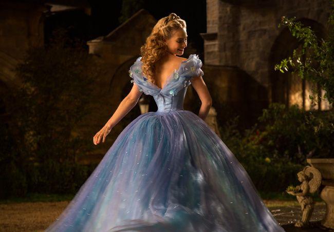 Lily James en Cinderella