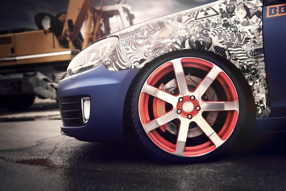 Vw Golf Gti Gets Boost And Wrap From Bbm Volkswagencitigolf
