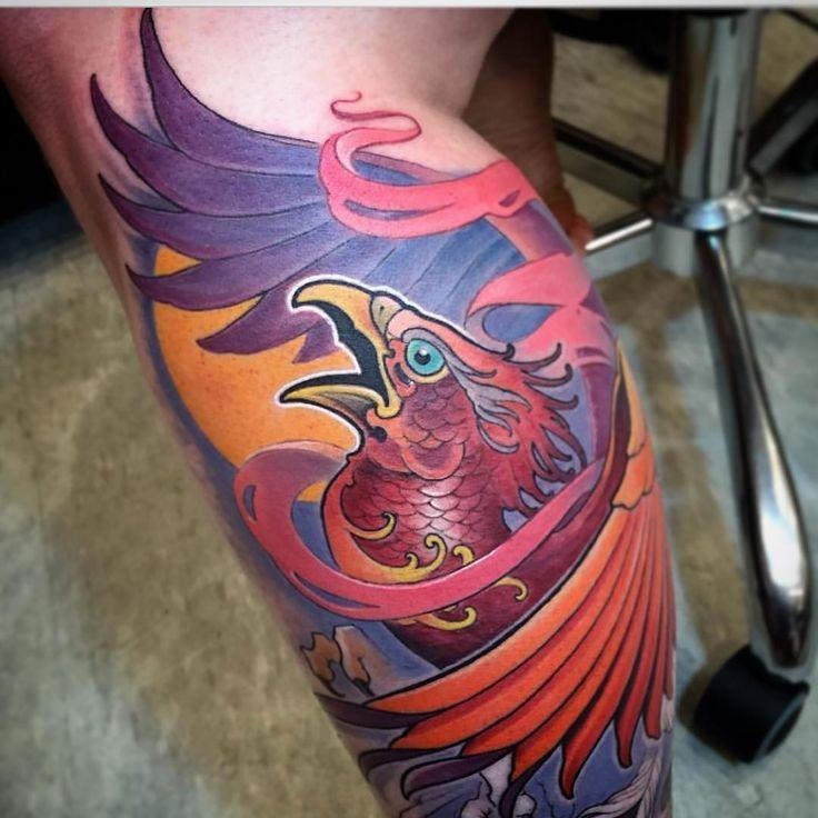 Traditional japanese tattoos phoenix & traditionelle japanische tätowierungen phoenix & tatouages japonais traditionnels phoenix & phoenix