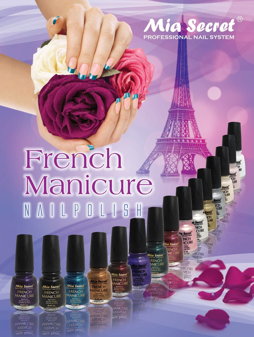 FRENCH MANICURE | #MIASECRET | Femeninasss | Pinterest