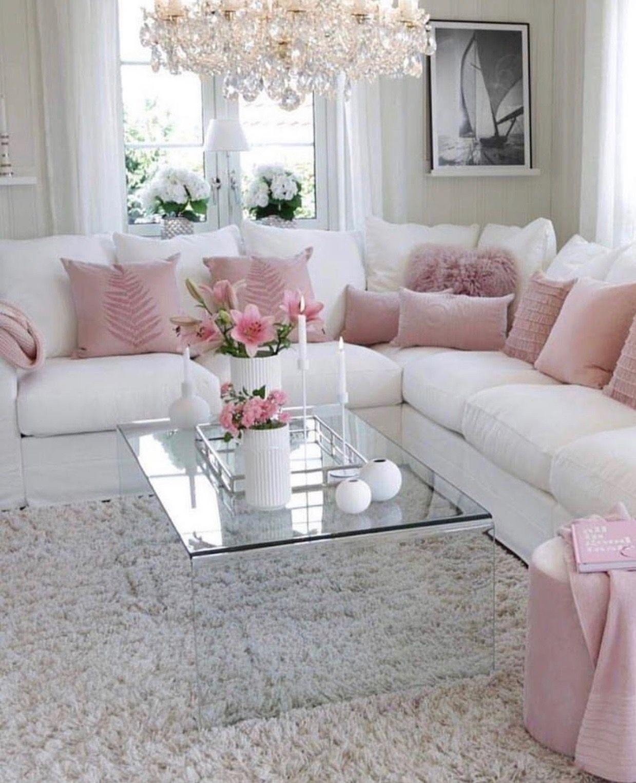 Pin By Chrisi Love On Living Room Living Room Decor Apartment Romantic Living Room Shabby Chic Living Room