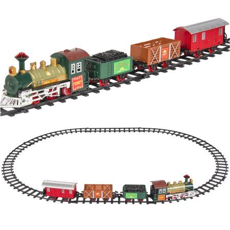Best Choice Products Kids Classic Electric Railway Train Car Track