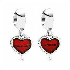 925 Solid Sterling Silver Mother and Daughter Charm on eBid United Kingdom keep one for yourself and pass the other on to that special mum or daughter! (renscharms)