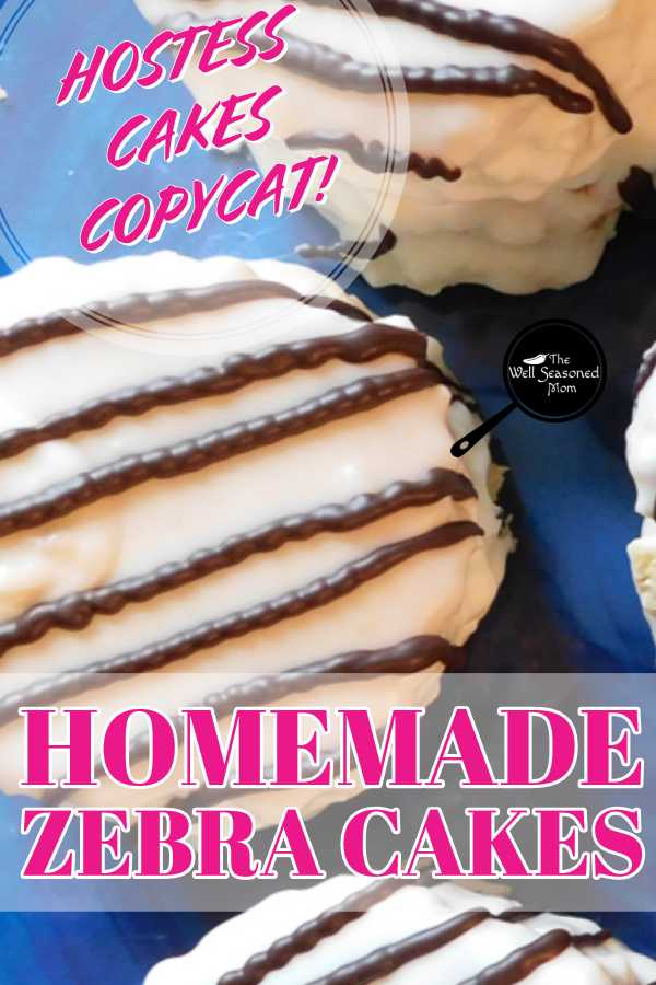 Homemade Copycat Zebra Cakes Are An Easy Fun Dessert The Whole Family Can Help Make Modify Recipe Easily For Christmas Tree Zebra Cake Hostess Cakes Desserts