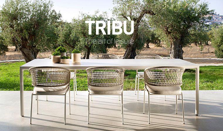 Tribu Mobili Giardino.Tribu Collezione Contour Poltrone Sedie Lounge E Divani
