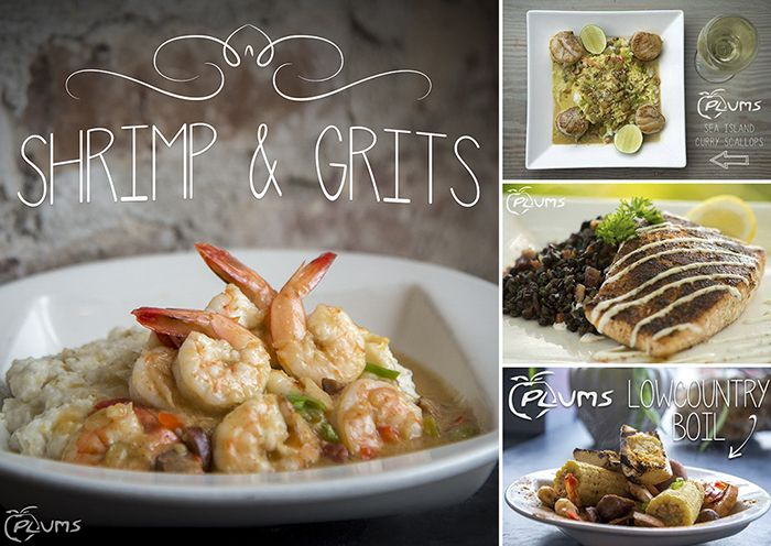 Plums Restaurant Seafood In Beaufort Sc