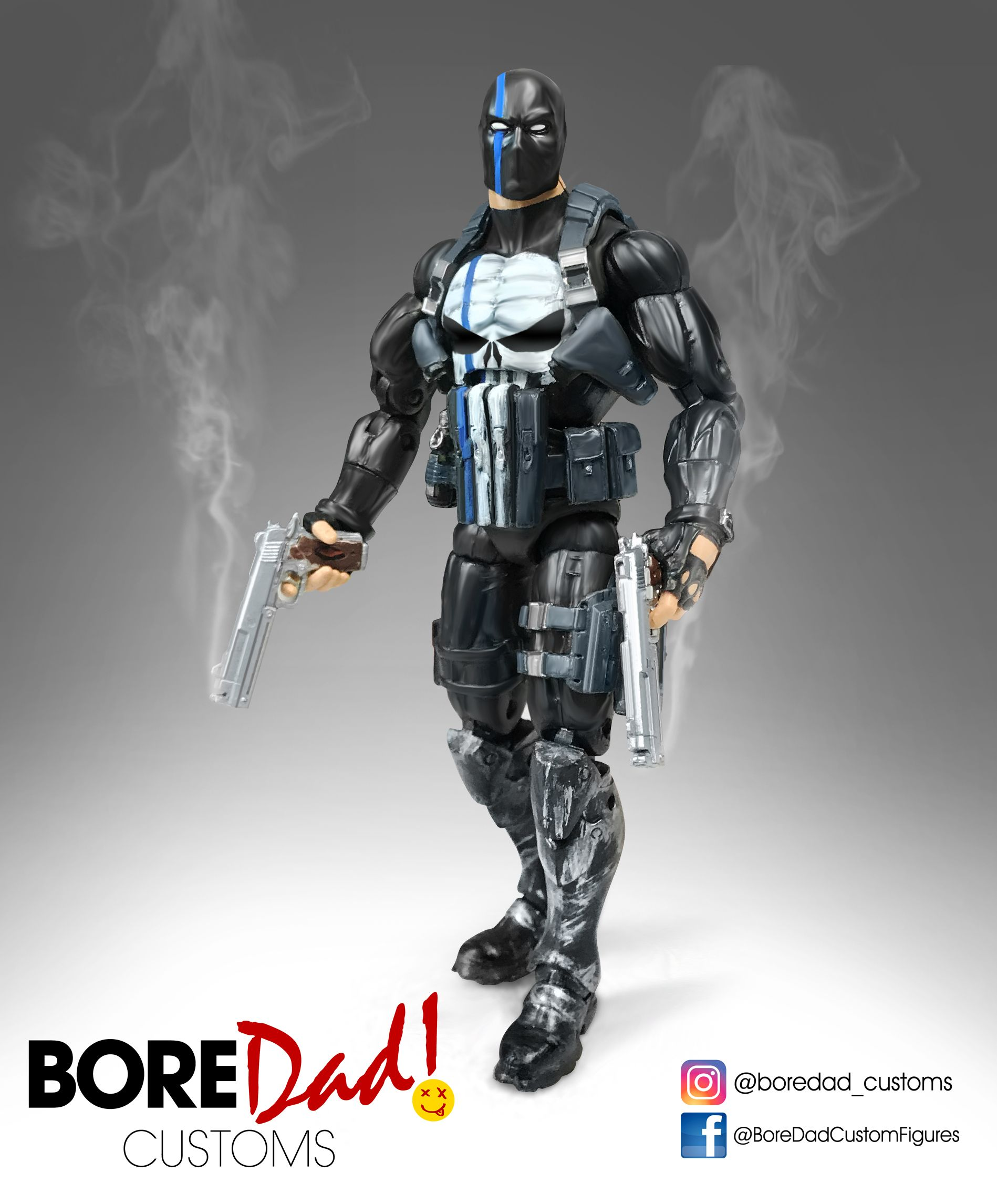 Custom Action Figure Marvel Legends Punisher | My personal