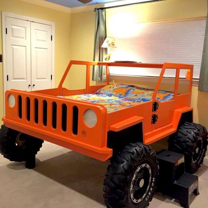 Jeep Bed Plans - Twin Size Car Bed In 2019
