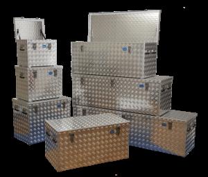 Aluminium Leger Kist.Overzicht Aluminium Traanplaat Kisten 638 X 600 Kist En