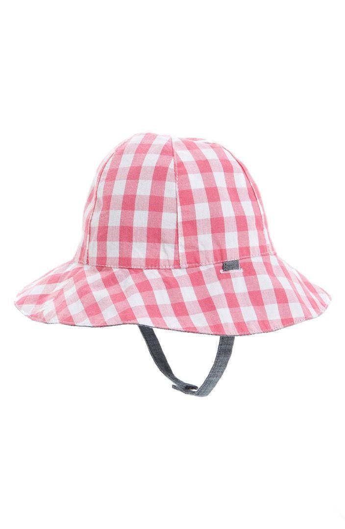06aa0cb78a9 Main Image - Tucker + Tate Reversible Plaid Sun Hat (Baby)