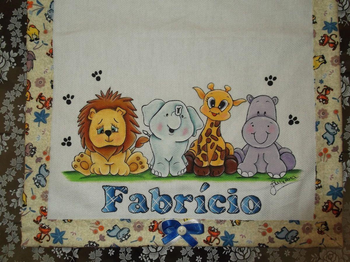 Muitas vezes Fralda De Boca - Safari Baby | Fralda de boca, Safari e Pintura em  HB76