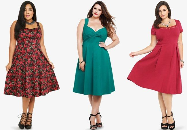 Torrid Fall Winter Plus Size Wedding Guest Dress | My Style ...
