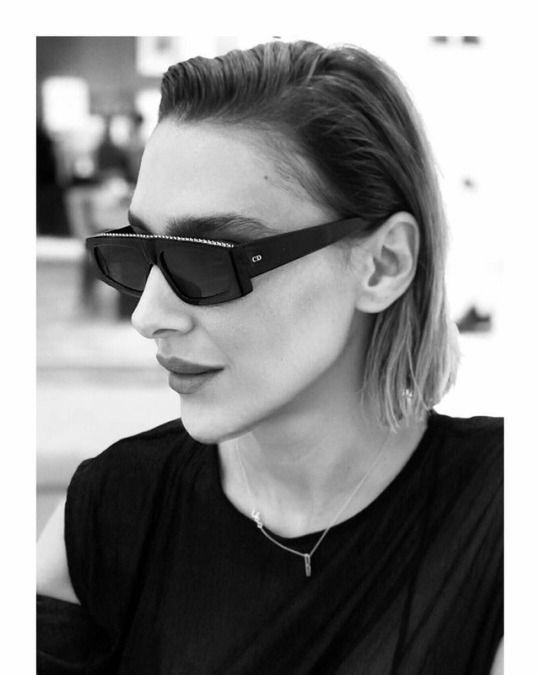 7fd3ae411c Ceylan Atinç in Dior Power sunglasses Advanced Style