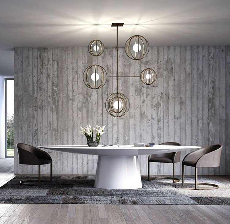 UFO Dining Table By Emmemobili Is A Modern Round Covered In White Lacquer With Really Futuristic Design