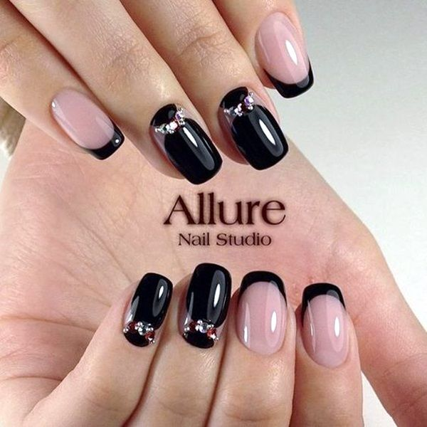 60 Pretty French Nails Designs 2018 Pinterest French Nails