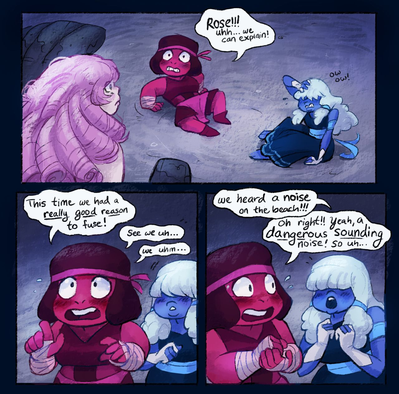 """Comic by Calonarang Part 4 """"I will fight for the place ..."""