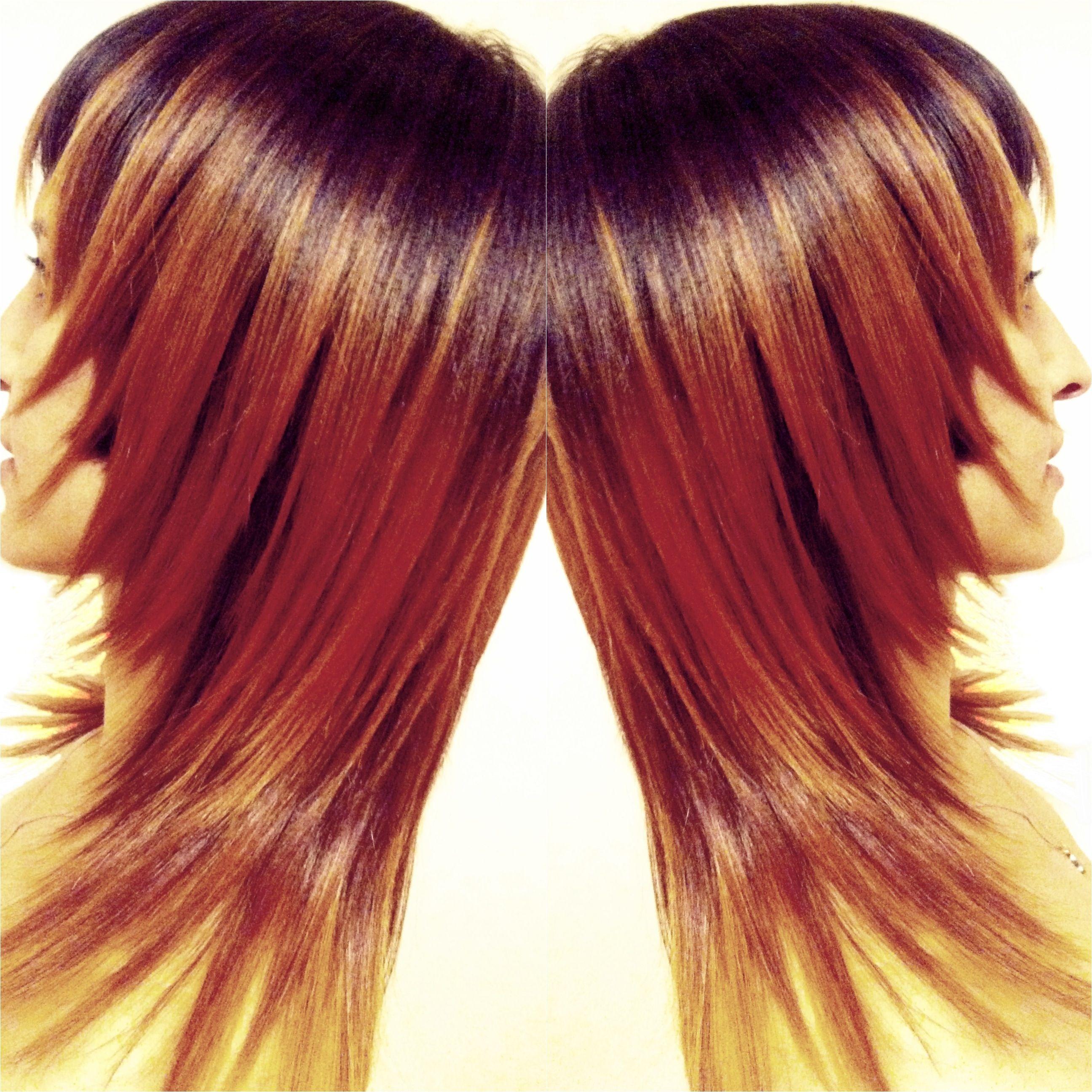 Ombr Hair Color Hair Cut Epic Hair Movement Ira Pope Sage Hair