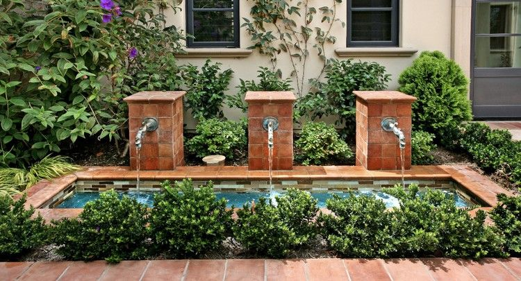 Patio Fountains That Ooze Tranquility
