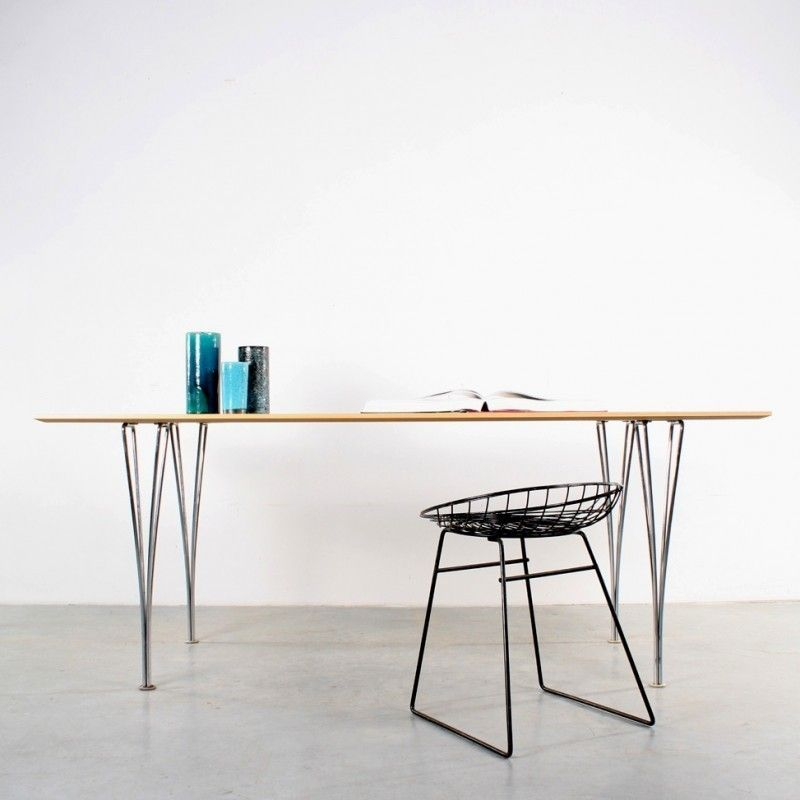 Located using retrostart \u003e Dining Table by Piet Hein and Arne