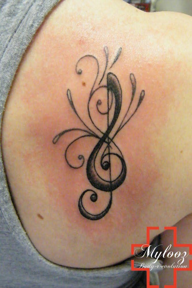 tatouages r actions tattoos piercing pinterest tatouage cl de sol cl de sol et. Black Bedroom Furniture Sets. Home Design Ideas