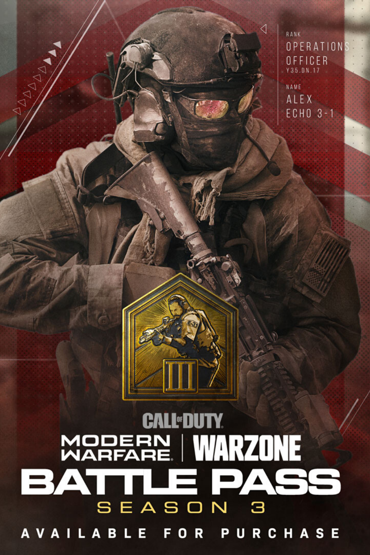Call Of Duty Warzone Season 3 Starting April 8 Call Of Duty Modern Warfare Hero Wallpaper
