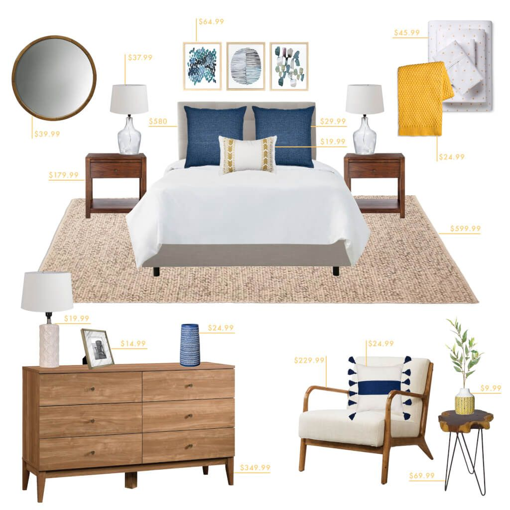 How To Refresh Your Bedroom On A Budget Bedroom Styles Simple Bedroom Coastal Living Rooms