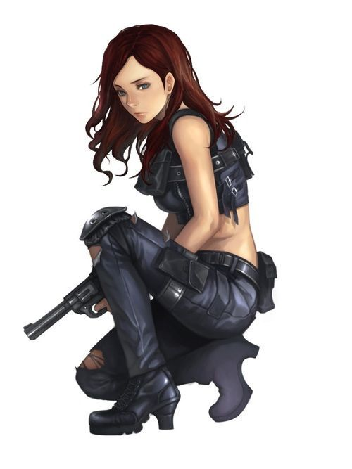 Badass Anime Character Design : Badass anime girls google search cosplay