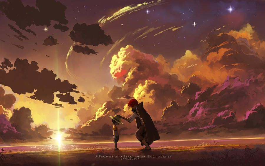 A Promise as a Start of an Epic Journey by ombobon on DeviantArt