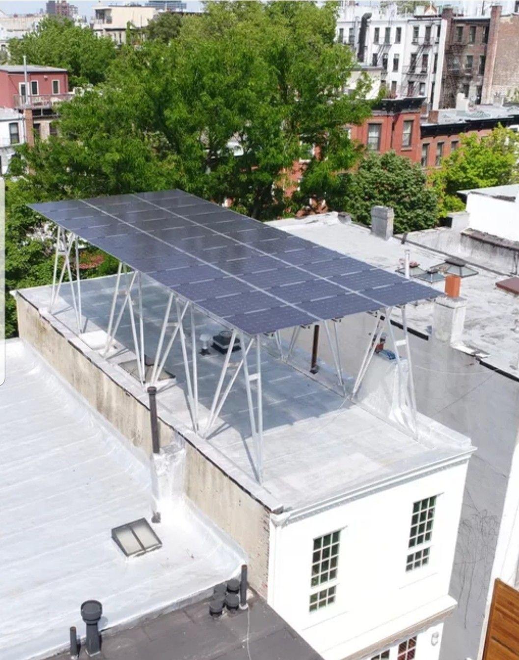 Idea for solar panel roof top pergola Solar panels roof