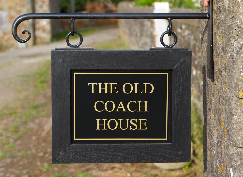 innovative hand carved wooden house signs