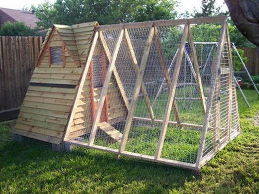 A Frame Chicken Coop Plans Free