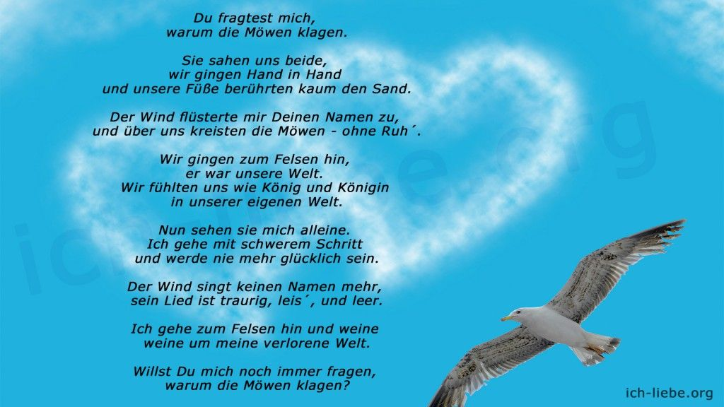 Pin auf Gedichte & Sprüche / Poems & Proverbs