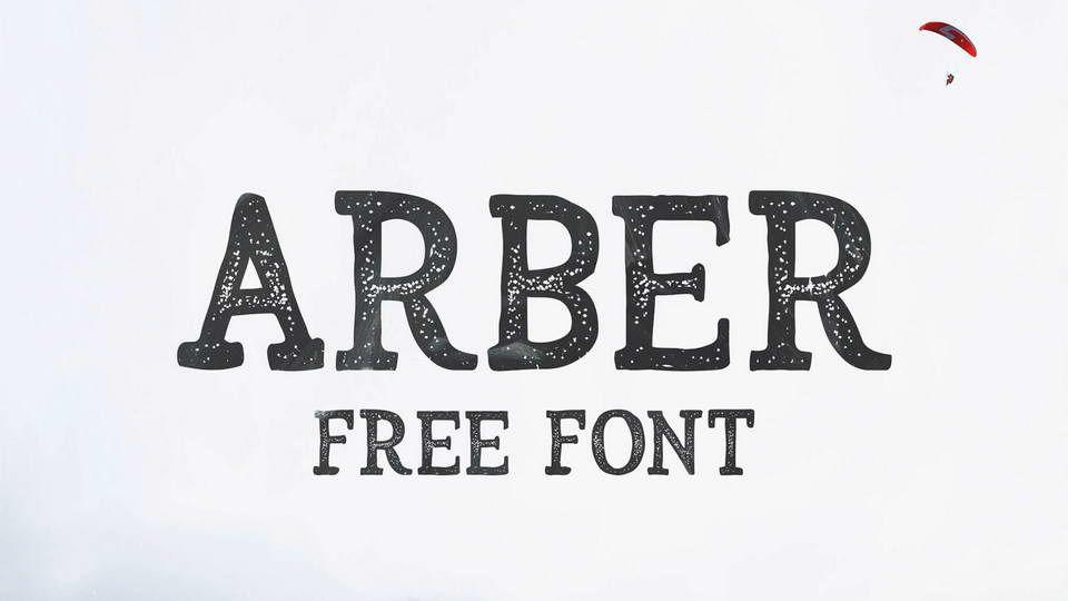 Arber Free Vintage Font Pinspiry Vintage Fonts Fonts Lettering