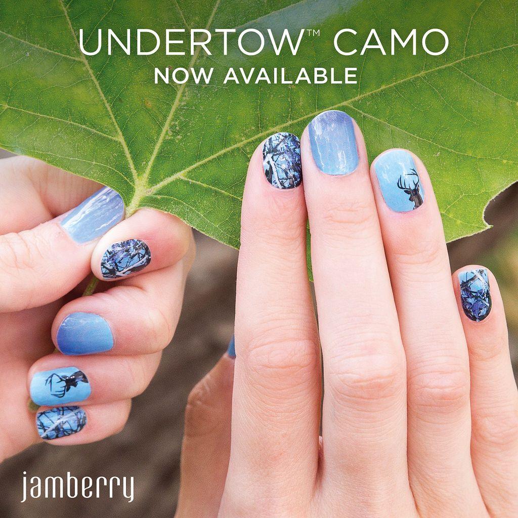 Fancy Camo Nail Wraps Crest - Nail Art Design Ideas - thewowproject.info