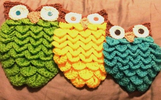 Crocodile Owl Stitch Pattern Video Tutorial Included Pinterest