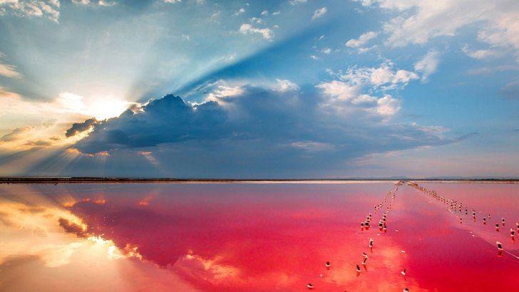 Украинское Мертвое море на Херсонщине | Пейзажи, Озера