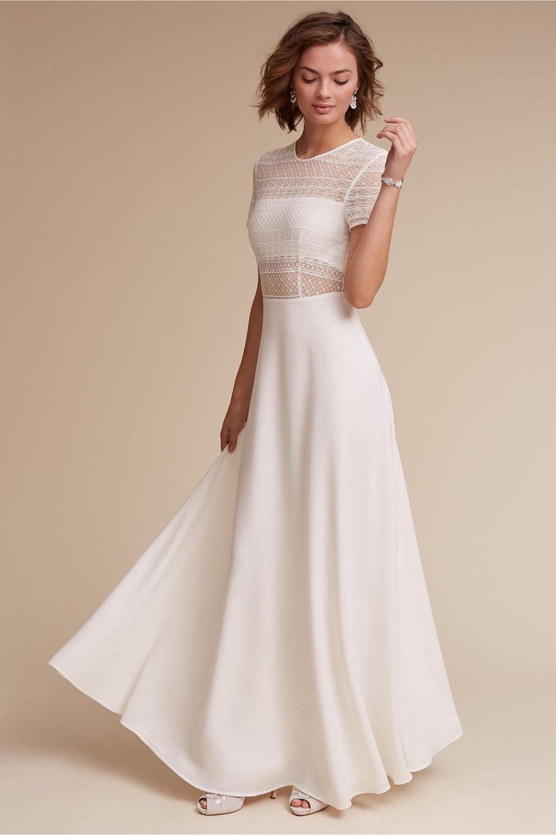 sleek and fashion-forward   Benson Dress from BHLDN   City Hall ...