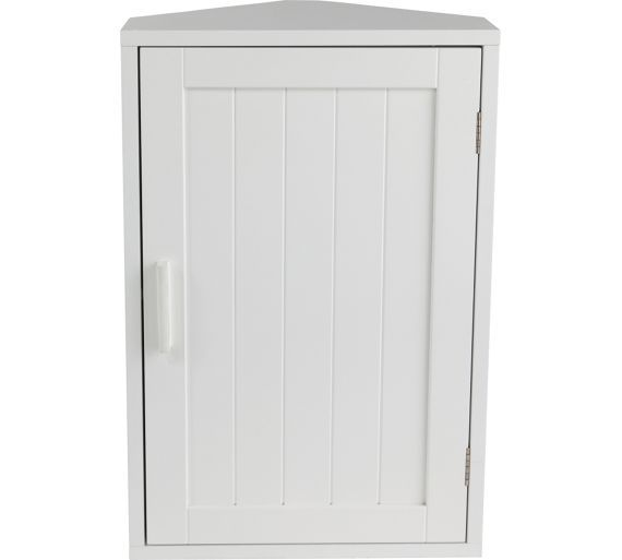 Buy Home Wooden Corner Bathroom Cabinet White At Argos Co Uk Visit Argos Co Uk To S White Bathroom Cabinets Bathroom Corner Cabinet White Bathroom Furniture