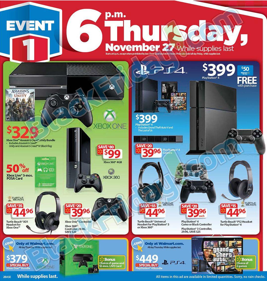 Walmart Black Friday 2014 Ad