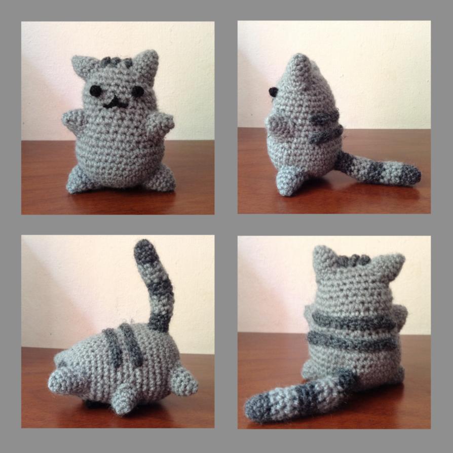 Pusheen Amigurumi by franpaillas on deviantART   Crochet   Pinterest ...