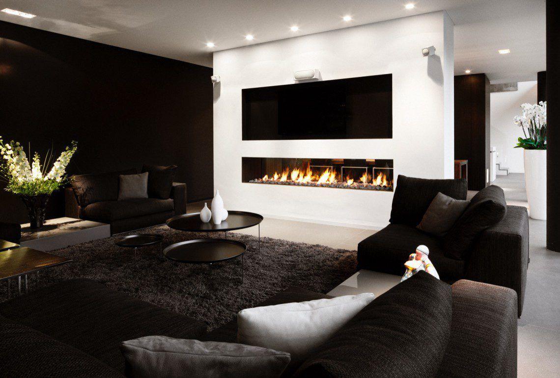 Moderne Villa - Francois Hannes | Design en 2019 | Salon maison ...