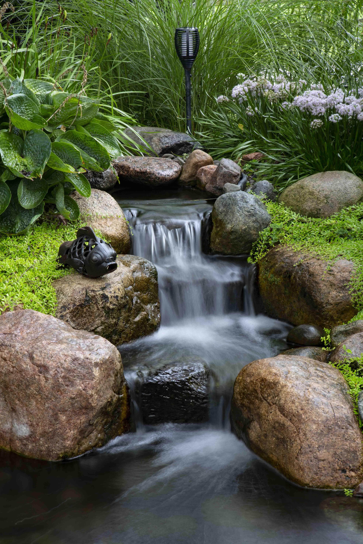 Aquascape Backyard Waterfall Landscape Fountain Kit