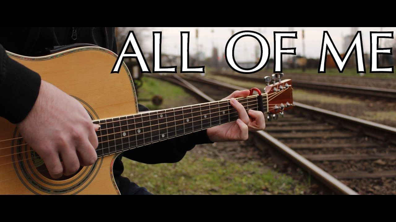 John Legend All Of Me Fingerstyle Guitar Cover By Peter Gergely Wit Fingerstyle Guitar Guitar Youtube Songs