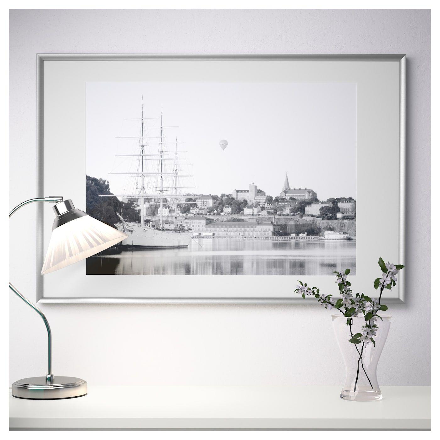 Silverhojden Rahmen Silberfarben Gerahmte Wand Rahmen Und Fotorahmen