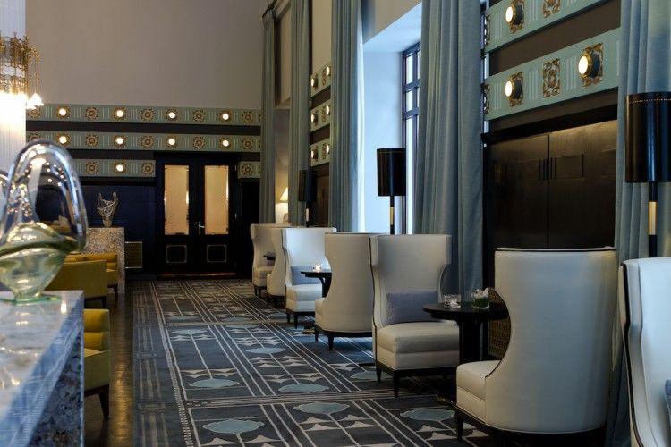 Hotel Bristol Public Areas Anita Rosato Luxury Hotel Design