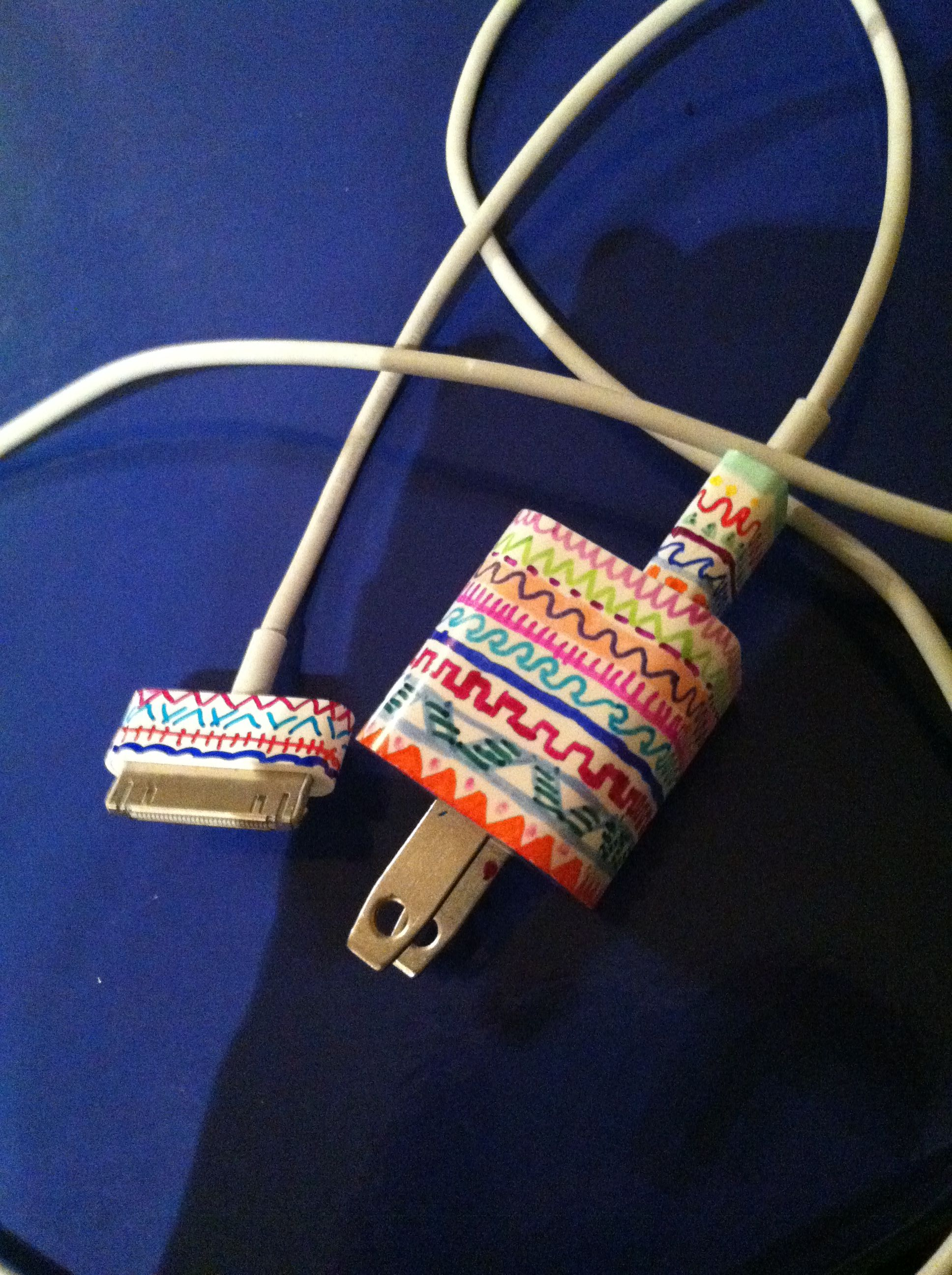 Pin By Stef Bucher On C R A F T Y D I Y Iphone Charger Sharpie Crafts Sharpie