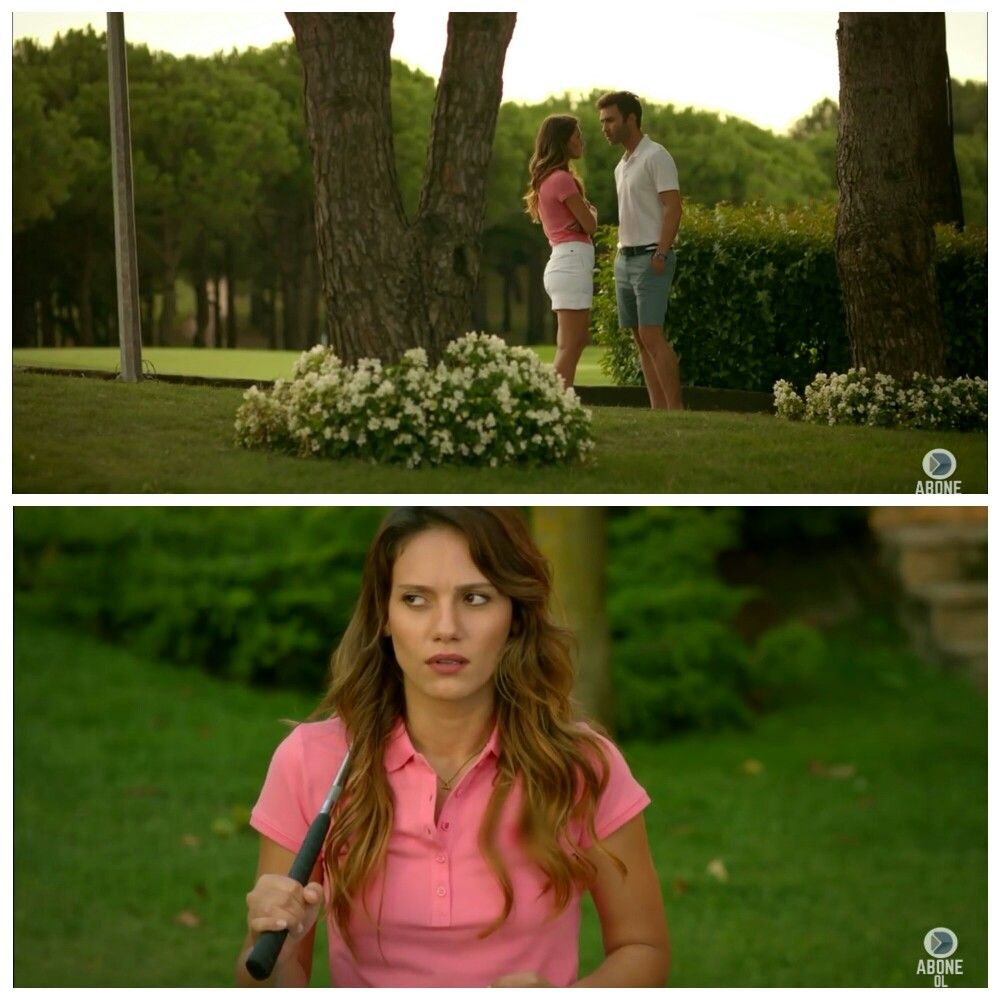 Baby Pink And White Golf Styling Atesbocegi Asli Movies And Tv Shows Baby Pink Couples