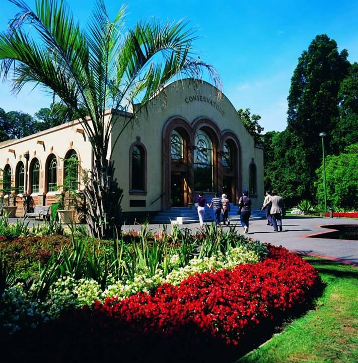 The Conservatory at Fitzroy Gardens, Melbourne, Australia ...