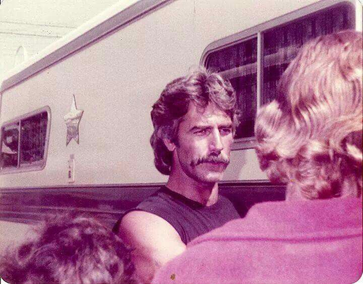 The handsome Sam Elliott. Doyles motorcycle shop. Bell ...